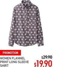 Women's Flannel Shirt