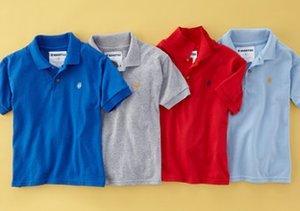 Colorful Kids' Polos