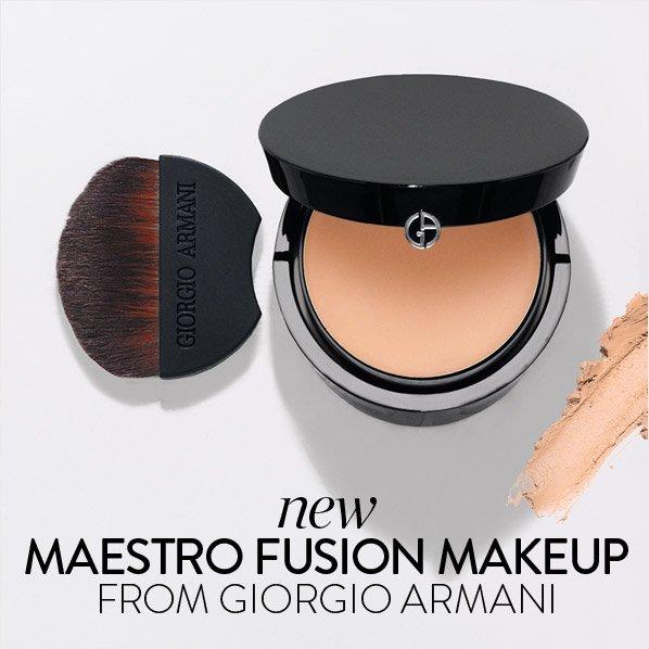 new MAESTRO FUSION MAKEUP FROM GIORGIO ARMANI