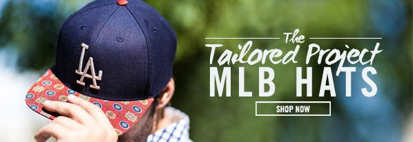 Shop The Tailored Project: MLB Hats
