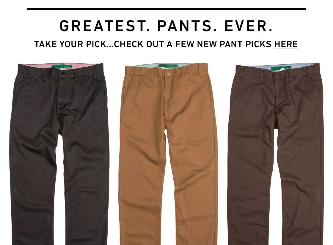 Greatest. Pants. Ever.