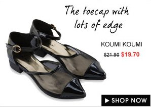 KOUMI KOUMI Meg Mesh Sandals with Low Heels