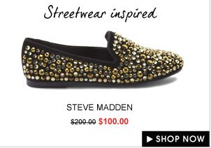 STEVE MADDEN Bling Slipper Shoes