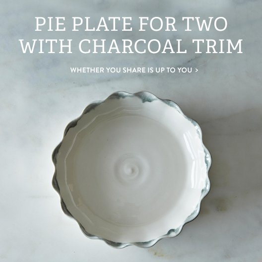 Pie Plate For Two