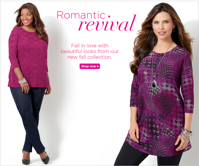 Romantic Revival: Fall in love with beautiful looks from our new fall collection.