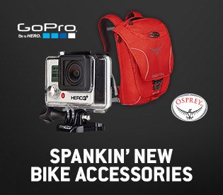 Spankin' New From GoPro, Osprey, & More