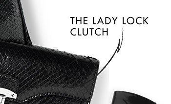 THE LADY LOCK CLUTCH