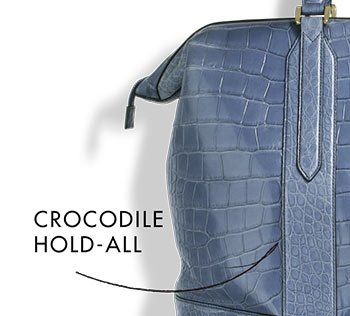 CROCODILE HOLD-ALL