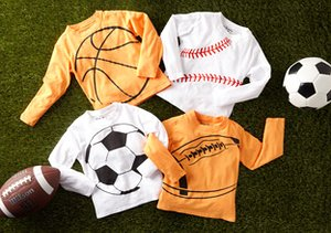 Sports Fever:  T's For Little Athletes