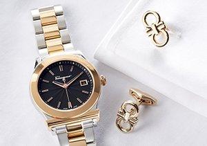 Salvatore Ferragamo: Watches & Cufflinks