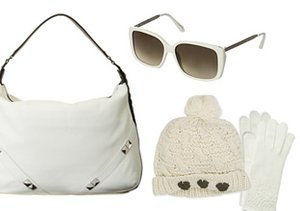 Winter White: Bags, Hats & More