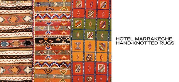 HOTEL MARRAKECHE HAND-KNOTTED RUGS, Event Ends October 8, 9:00 AM PT >