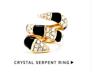 Shop Crystal Serpent Ring