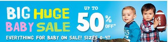 Big Huge Baby Sale!