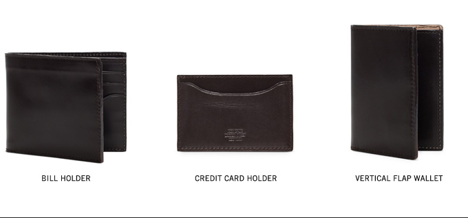 BILL HOLDER. CREDIT CARD HOLDER. VERTICAL FLAP WALLET..