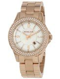 Michael Kors MK5403 Women's Rose Gold Plated White Dial Watch
