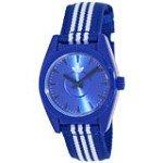 Adidas ADH2790 Women's Santiago-Mini Blue Dial Blue & White Nylon Strap Watch