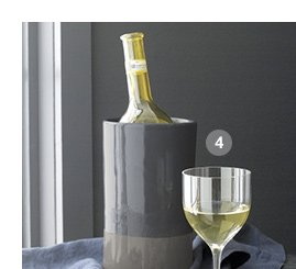 4. Welcome White Wine Glass $9.95