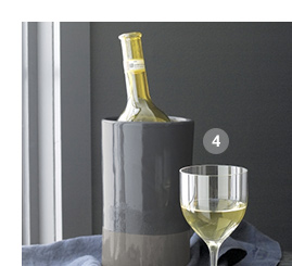 4. Welcome White Wine Glass $9.95