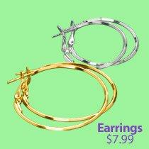 Hoop Earrings BOGO