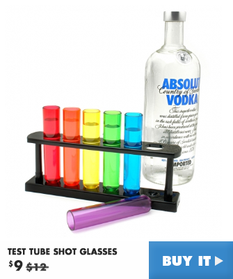Test Tube Shot Glasses