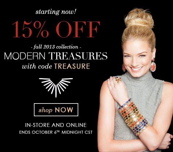 Modern Treasures