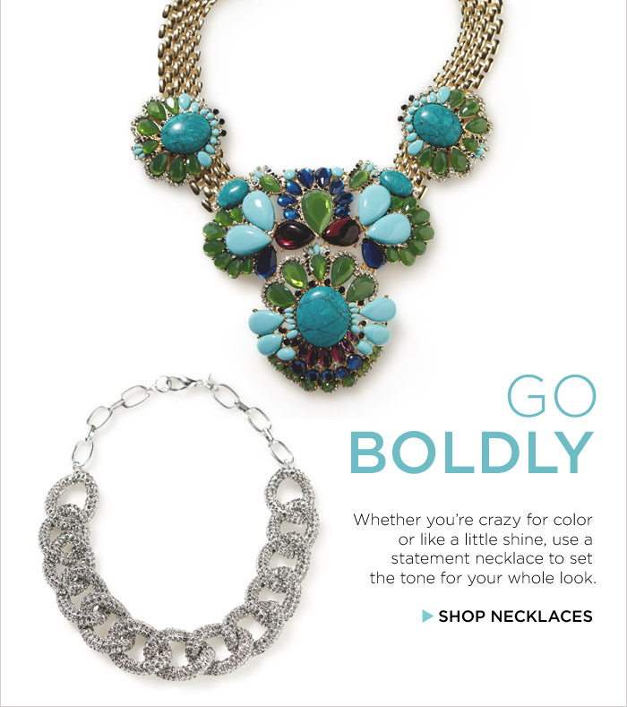 GO BOLDLY | SHOP NECKLACES