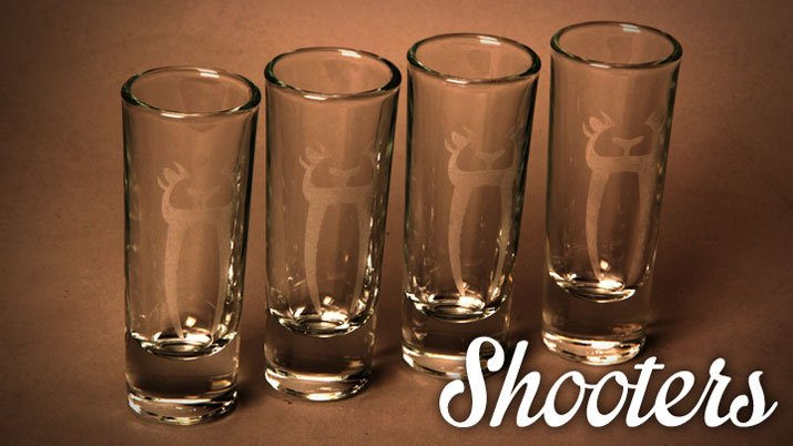 Eyes Only Shooter Glass