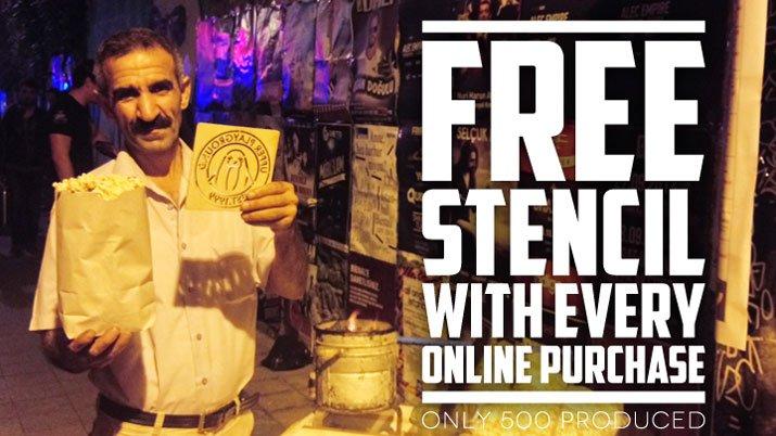 Free UP Wood Stencils