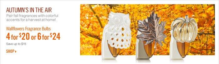 Wallflowers Fragrance Bulbs – 4 for $20