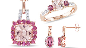 Pink Gemstone Jewelry