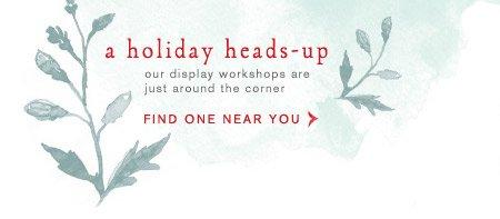 Holiday Display Workshops