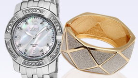 Silver Watches and Jewelry
