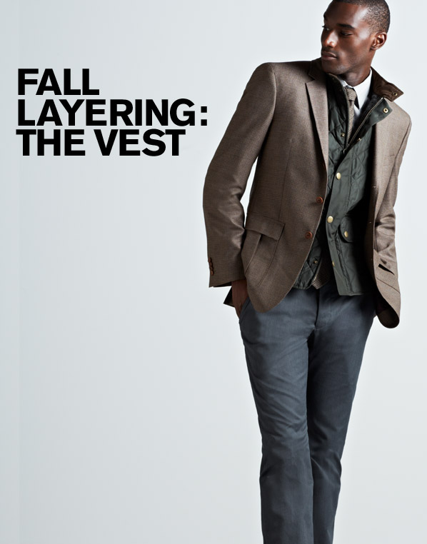 FALL LAYERING: THE VEST