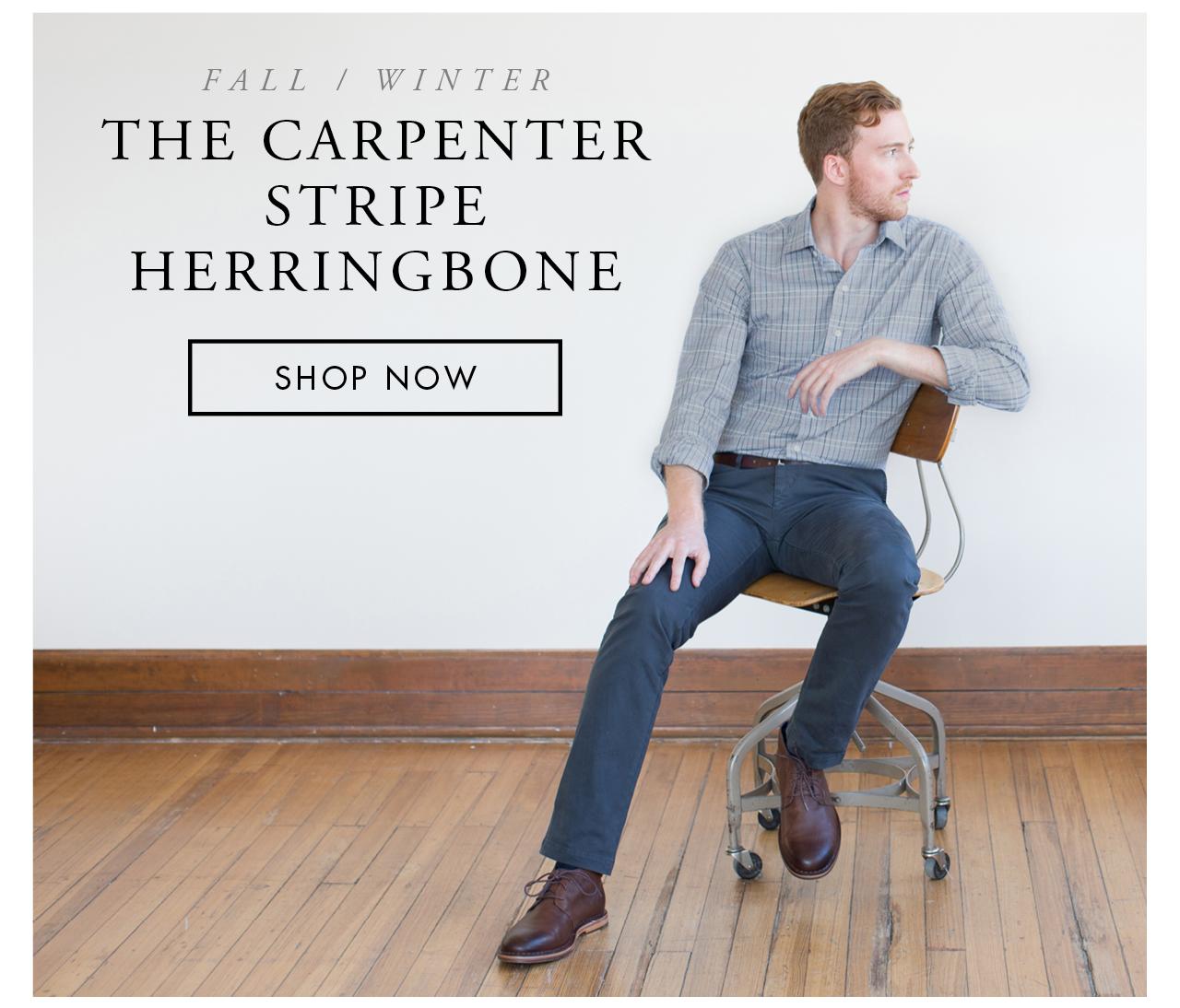 The Carpenter Stripe Herringbone