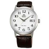 Orient ER27008W Men's Symphony Automatic Leather Strap White Dial Mechanical Watch