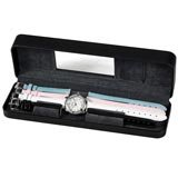 Wenger 60364 Women's Alpine Sport Gift Set Mother of Pearl Dial Interchangeable Leather Strap Watch