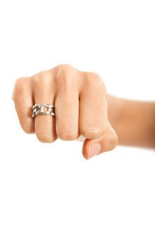 CURB LINK RING 6
