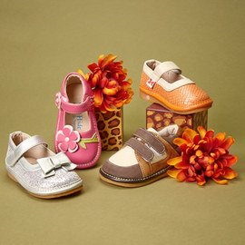 Squeaking Stepping: Kids' Shoes
