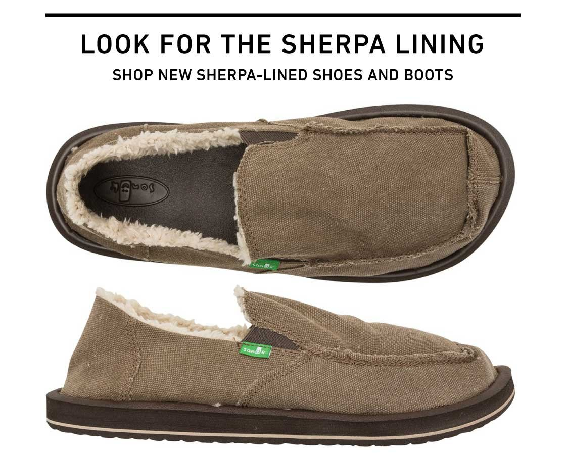 Shop New Sherpa-Lined Shoes