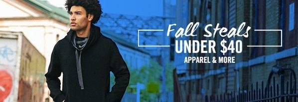 Shop Fall Steals Under $40: Apparel