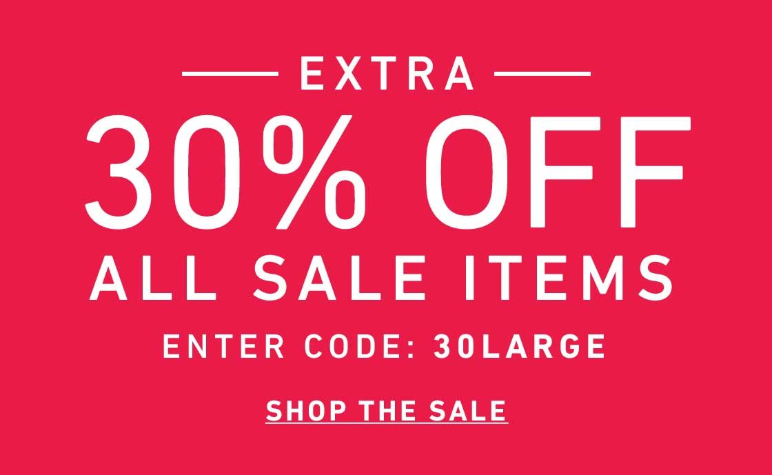 Extra 30% Off All Sale
