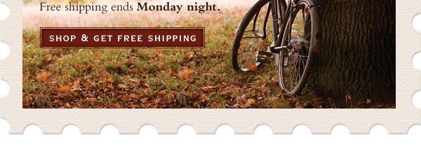 Shop & Get Free Shipping