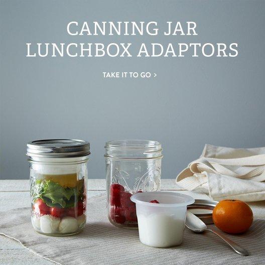 Canning Jar Lunchbox Adaptors