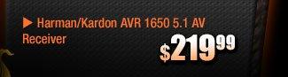 $219.99 -- Harman/Kardon AVR 1650 5.1 AV Receiver