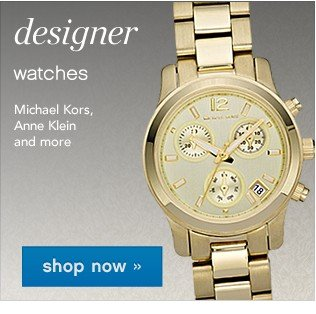 Designer Jewelry and Watches. Shop now.