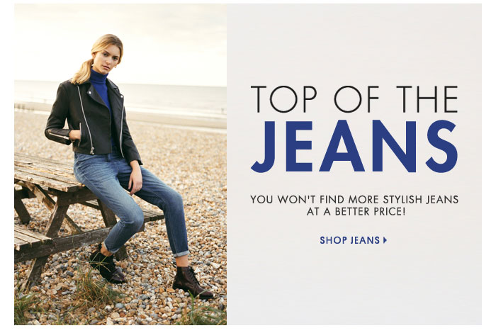 TOP OF THE JEANS - SHOP JEANS