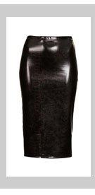 Snake Vinyl Tube Skirt