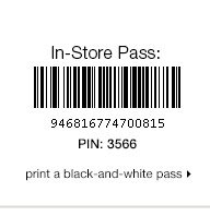 PRINT A BLACK-AND-WHITE PASS