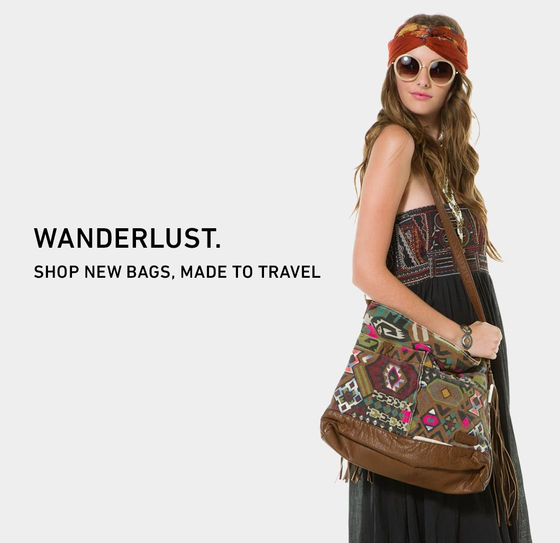 Wanderlust: Shop New Bags